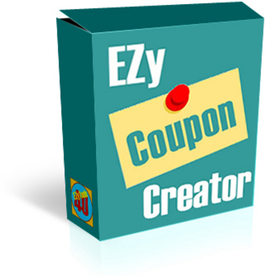 Product picture EZy Coupon Creator Software